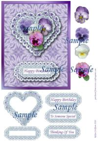 card making sheets